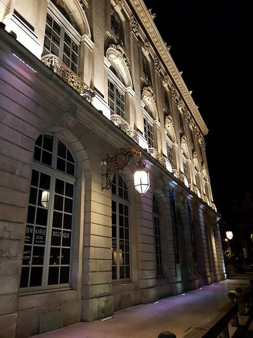 Ville de Nancy - Entrée du musée des Beaux arts