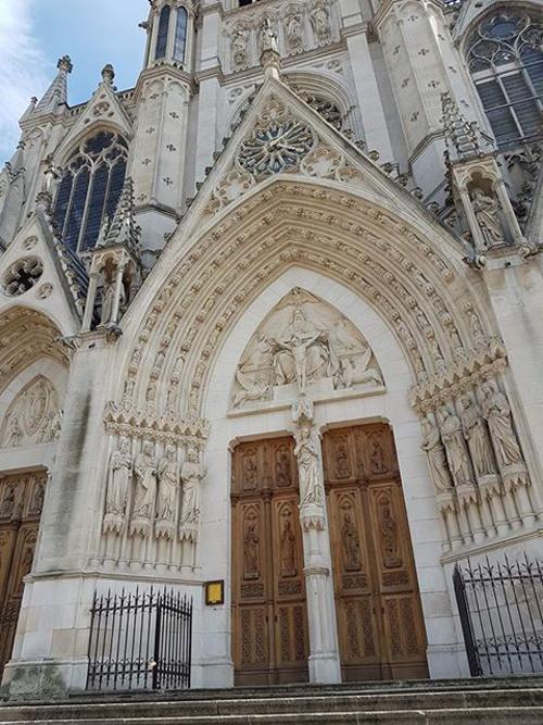 Ville de Nancy - Entrée de la Basilique Saint Epvre