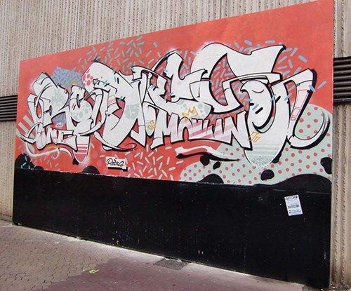 Ville de Nancy - Street Art Le Mur par Rodes