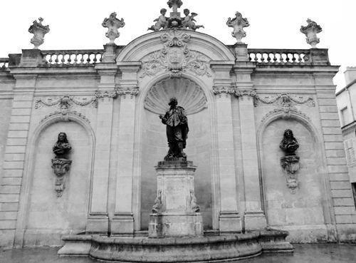Ville de Nancy Place Vaudémont N&B
