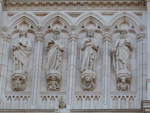 Ville de Nancy - Détail de la Basilique Saint-Epvre