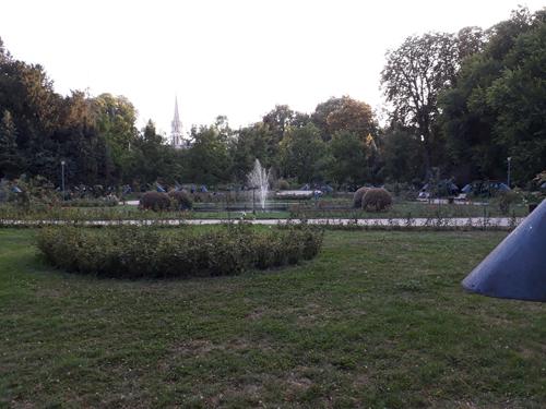 Ville de Nancy - Vue sur la Pépinière