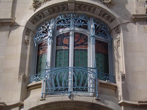 Ville de Nancy - Détail de la Maison Gaudin #ArtNouveau
