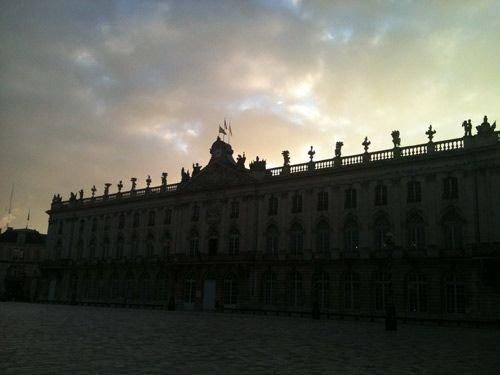 Ville de Nancy - Place Stanislas sous la neige
