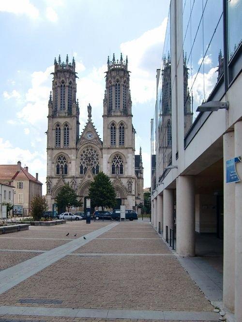 Ville de Nancy Esplanade Saint-Léon