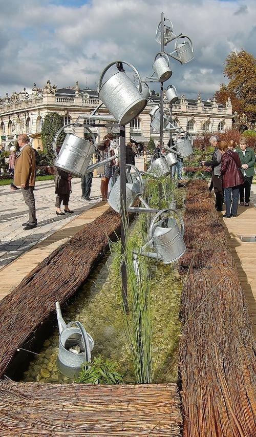 Ville de Nancy -  Les jardins éphémères de la place Stanislas édition 2013
