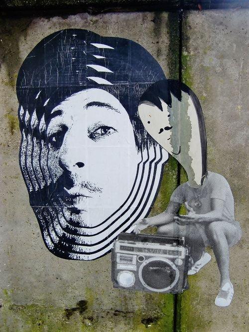 Ville de Nancy - Street art  Bernardo Gui et Monsieur et Madame