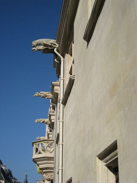 Ville de Nancy - Gargouilles du musée Lorrain