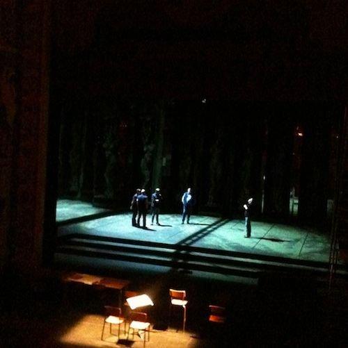 Ville de Nancy - Réglages lumières pour Macbeth Opéra national de Lorraine