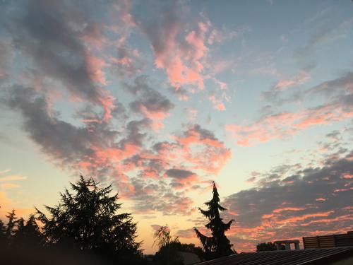 Ville de Nancy - Coucher de soleil