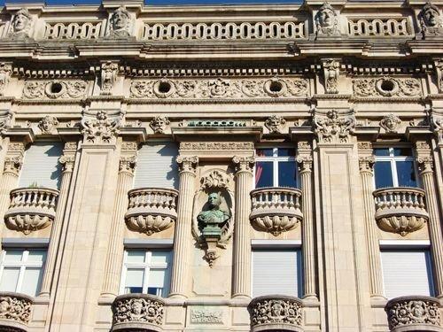 Ville de Nancy Détail de façade