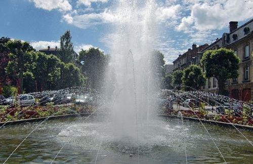 Ville de Nancy - Fontaine du Square Monseigneur Petit