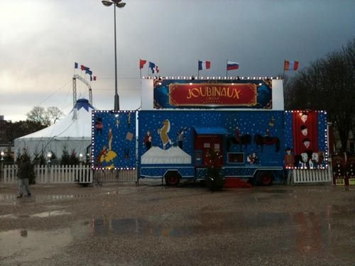 Ville de Nancy - Cirque Joubinaux place Carnot