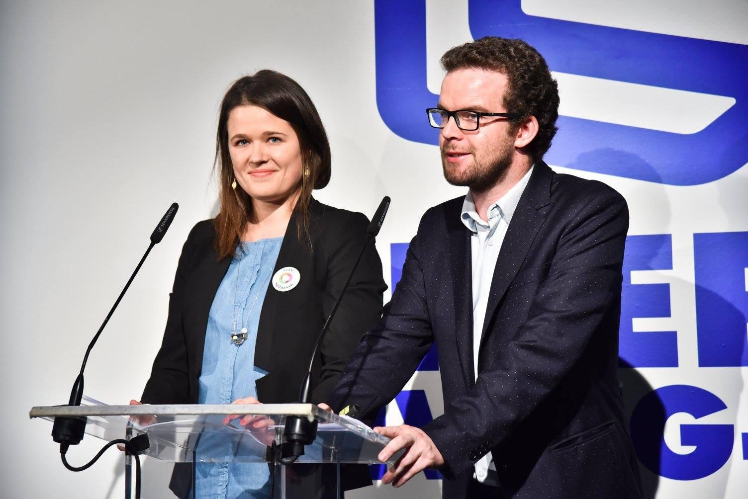 Ismaël Le Mouël et Léa Thomassin inaugurent la Social Good Week 2016