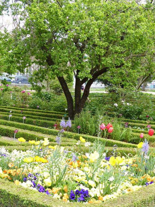 Ville de Nancy - Vue du Jardin Godron