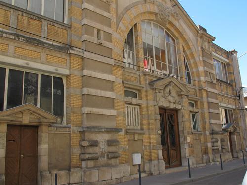 Ville de Nancy - Maison du Peuple de style Art Nouveau