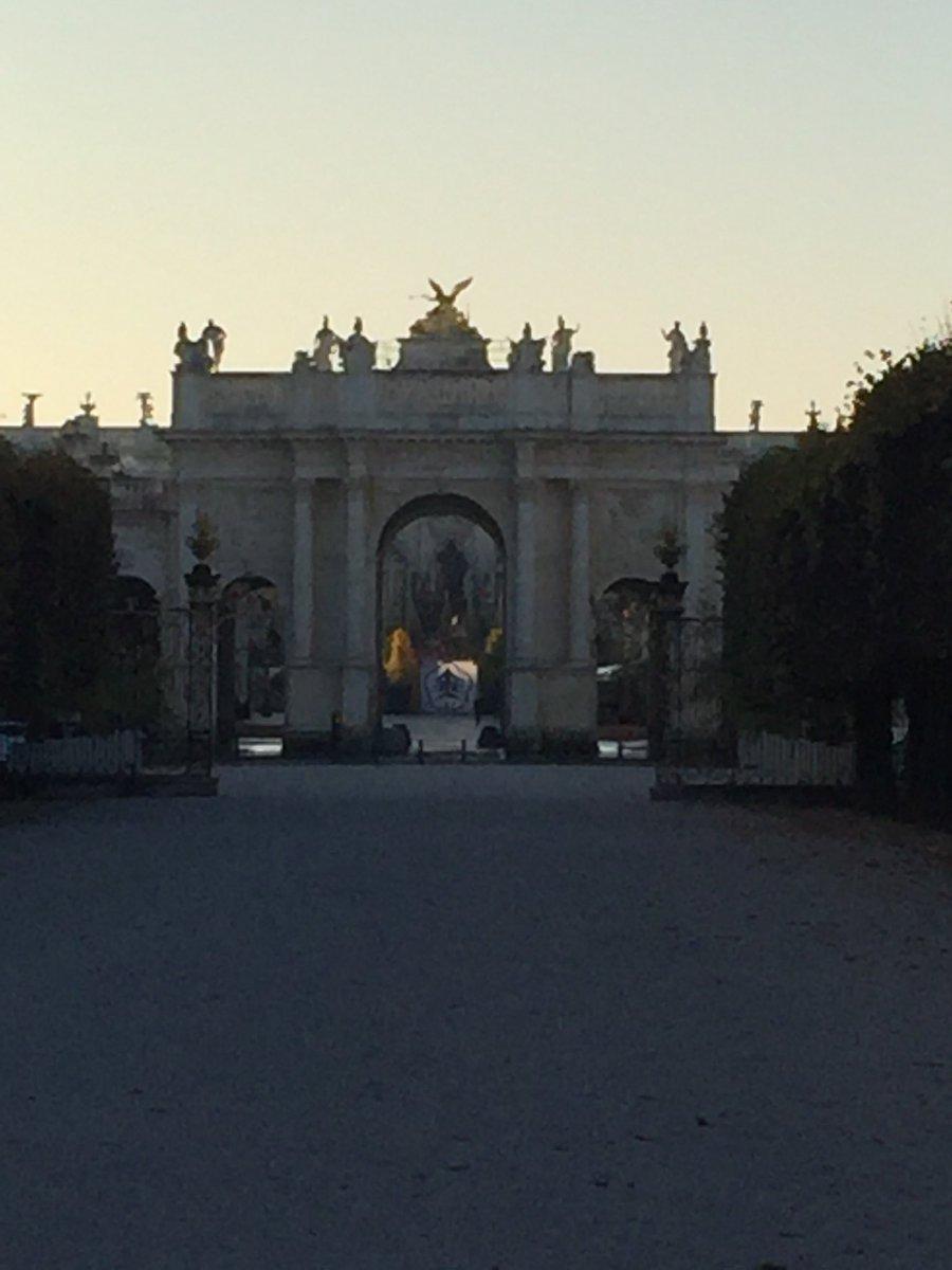Ville de Nancy - Porte Héré dépuis la place de la Carrière