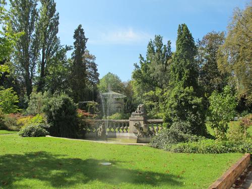 Ville de Nancy - Parc de l'Ecole de Nancy