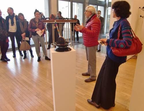 Ville de Nancy - Vernissage de Un temps pour l'intime de Vincent Gagliardi