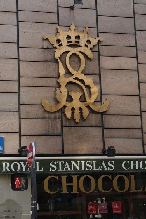 Ville de Nancy - Chocolat Royal Stanislas