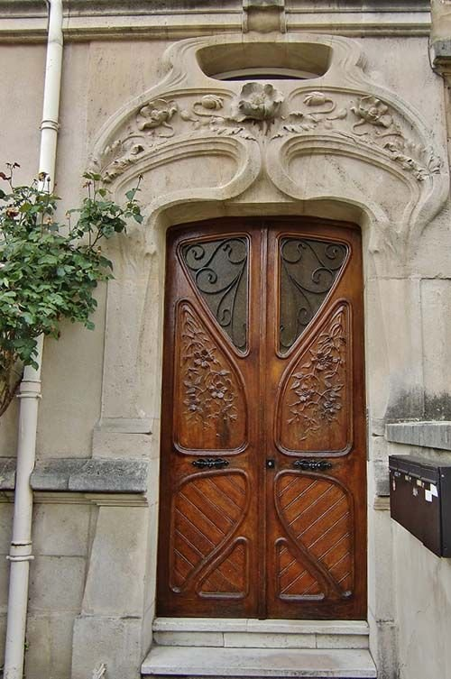 Ville de Nancy - Porte Art Nouveau