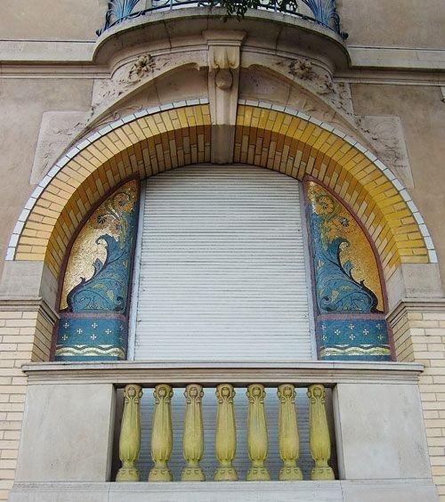 Ville de Nancy - Fenêtre Art Déco