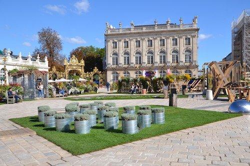 Le jardin connecté - Jardin Ephémère sur la Place Stanislas