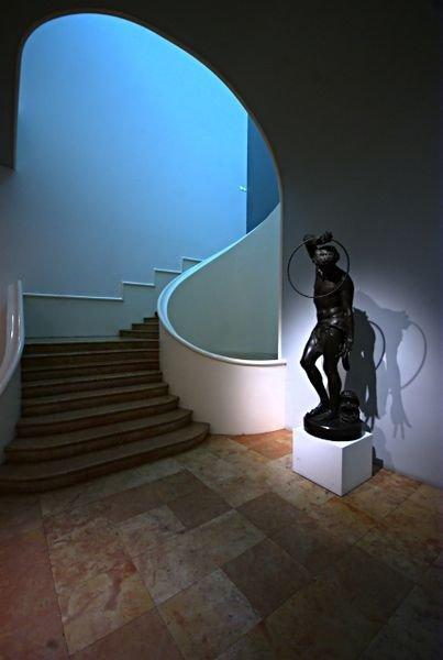 Ville de Nancy - Escalier Jacques-Michel Andre du Musée des beaux-arts