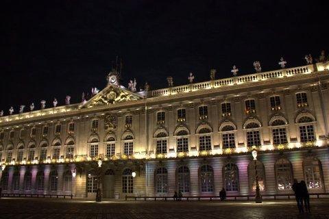 Ville de Nancy - Place Stanislas de nuit