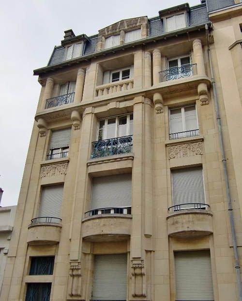 Ville de Nancy - Immeuble art déco