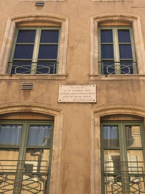 Ville de Nancy - Maison natale du père de Victor Hugo
