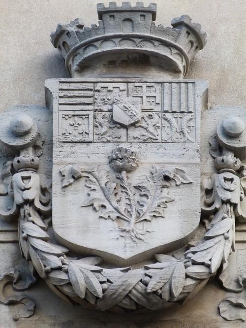 Ville de  Nancy - Fronton école Braconnot