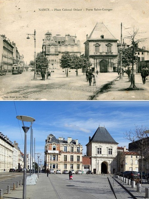 Ville de Nancy - Place du colonel Driant