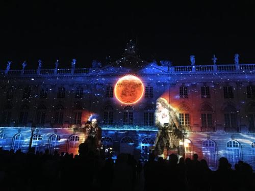 Ville de Nancy - Autour de la Lune Place Stanislas