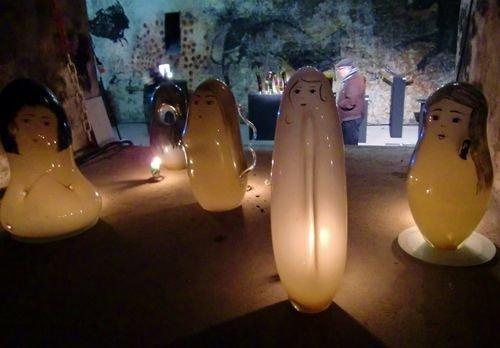 Ville de Nancy - Exposition dans les caves de la Craffe à Maxéville