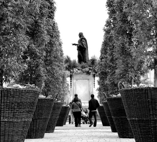 Ville de Nancy - Haie d'honneur