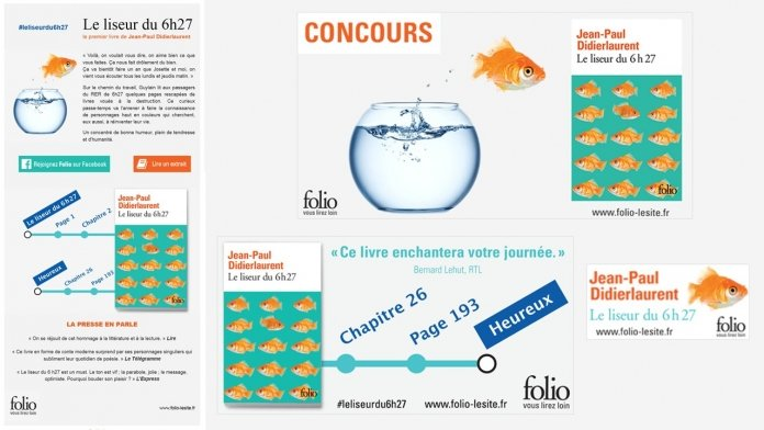 Campagne display pour Folio - Septembre 2015